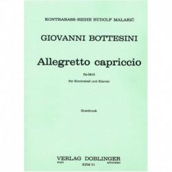 Bottesini. Allegretto Capriccio (a la Chopin) (Contrabajo)