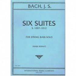 Bach, J.S. 6 Suites S.1007-1012 (Contrabajo) (Rev. Mark Bernat)