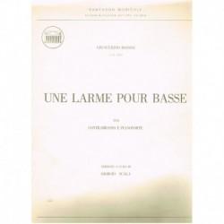 Rossini, Gio Une Larme Pour Basse (Contrabajo y Piano)