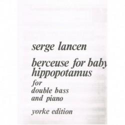 Lancen, Serg Berceuse for Baby Hoppopotamus (Contrabajo y Piano)