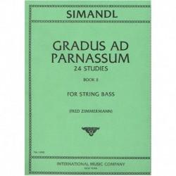 Simandl. Gradus Ad Parnassum. 24 Estudios Vol.2 (Contrabajo)