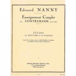Nanny. Estudios de Kreutzer y Fiorillo (Contrabajo)