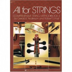 Anderson/Frost. All For Strings Vol.3 (Contrabajo)