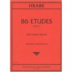 Hrabe. 86 Estudios Vol.2 (Contrabajo)
