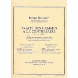 Hellouin, Pi Tratado de Escalas para Contrabajo Vol.2a