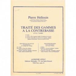 Hellouin, Pi Tratado de Escalas para Contrabajo Vol.2b