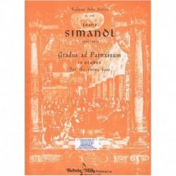 Simandl. Gradus Ad Parnassum. 14 Estudios (Contrabajo)