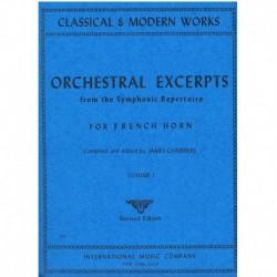Varios. Orchestral Excerpts Vol.1 (Trompa)