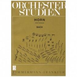 Bach,J.S. Estudios Orquestales para Trompa