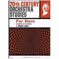 Varios. Estudios Orquestales del S.XX (Trompa)