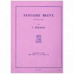 Pernoo. Fantasia Breve (Trompa y Piano)