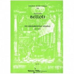 Belloli. 6 Estudios Progresivos (Trompa)