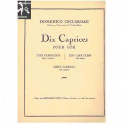 Ceccarossi. 10 Caprichos para Trompa