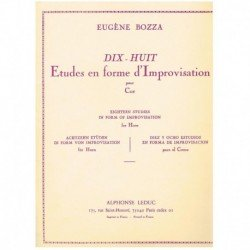 Bozza. 18 Estudios en Forma...