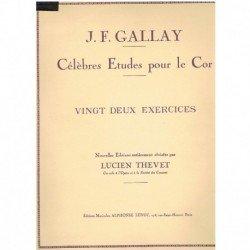 Gallay. 22 Ejercicios para...