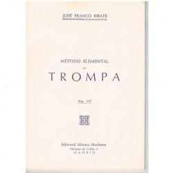 Franco Ribate. Metodo Elemental de Trompa