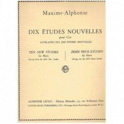 Maxime-Alphonse. 10 Nuevos...