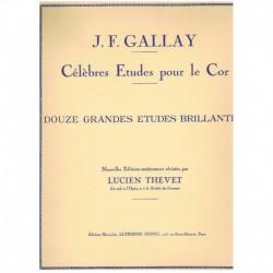 Gallay. 12 Grandes Estudios...