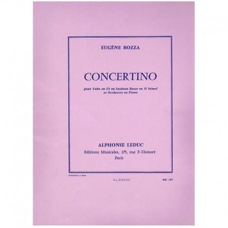 Bozza. Concertino (Tuba y Piano)
