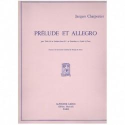 Charpentier. Prelude et Allegro (Tuba y Piano)