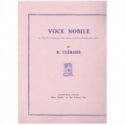 Clerisse. Voce Nobile (Tuba y Piano)
