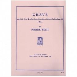 Pierre-Petit. Grave (Tuba y Piano)