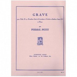 Pierre-Petit. Grave (Tuba y...