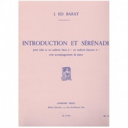 Barat, J.E. Introduction et Serenade (Tuba y Piano)