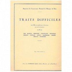 Varios.Traits Difficiles Vol.1 (Tuba)