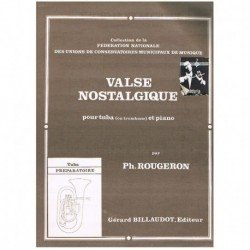 Rougeron. Valse Nostalgique (Tuba y Piano)