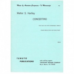 Hartley. Concertino (Tuba y...