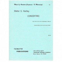 Hartley. Concertino (Tuba y...