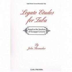 Concone. Legato Etudes for Tuba (Adapt. John Shoemaker)