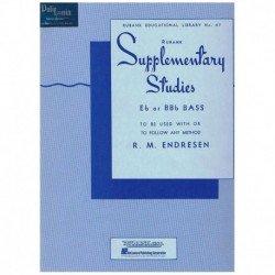 Endresen. Supplementary Studies (Tuba)