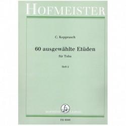 Kopprasch. 60 Estudios Vol.2 (Tuba)