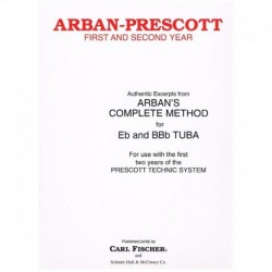 Arban/Prescott. Authentic Excerpts. 1º y 2º Año (Tuba)
