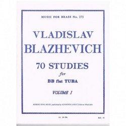 Blazhevich. 70 Estudios...