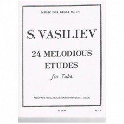 Vasiliev. 24 Estudios Melodicos (Tuba)