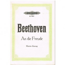 Beethoven. An Die Freude (Coro/Piano)