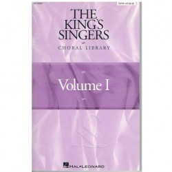 Varios. The King's Singers. Choral Library Vol.1 (Coro/Piano)