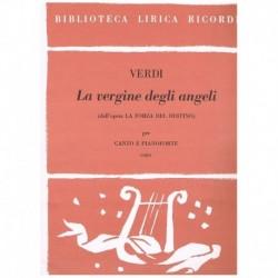 "Verdi. La Vergine Degli Angeli (de La Forza Del Destino"") (Coro y Pian"""