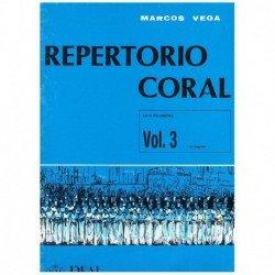 Vega, Marcos. Repertorio Coral Vol.3. La Negrina (Mateo Flecha) (Coro)