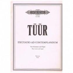 Tuur. Exitatio Ad Contemplandum (Coro y Organo)