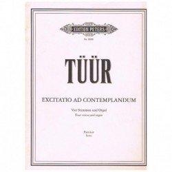Tuur, Erkki-Sven. Exitatio Ad Contemplandum (Coro/Organo)