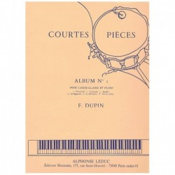 Dupin. Courtes Pieces Vol.1 (Caja y Piano)