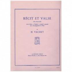 Vachey, Henr Recit et Valse (Caja, 4 Timbales, Plato Suspendido y Piano)