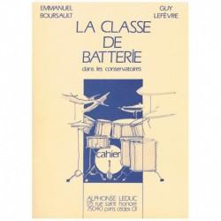 Boursault/Lefevre. La Clase de Bateria en los Conservatorios Vol.1
