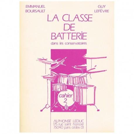 Boursault/Lefevre. La Clase de Bateria en los Conservatorios Vol.2