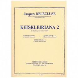 Delecluse, J Keiskleiriana 2. 12 Estudios para Caja
