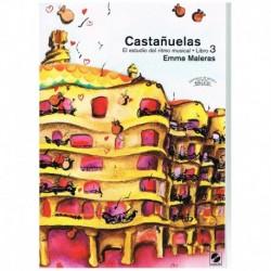 Maleras. Castañuelas. El Estudio del Ritmo Musical Vol.3 +CD